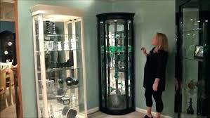 glass corner curio cabinet black corner curio cabinet lighted cabinets sale lisacintosh