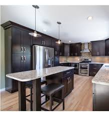 One Color Fits Most Black Kitchen Cabinets by Shaker Kitchen Cabinets With Simple Yet Stylish Design