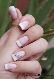permanent nail extensions french manicure design images