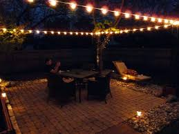 patio ideas images of outdoor string light ideas home design