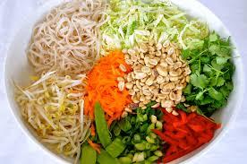 malay noodle salad u2013 race day recipes