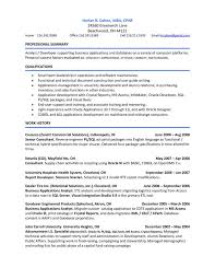 Sample Resume For Oracle Pl Sql Developer by 37 Best Zm Sample Resumes Images On Pinterest Sample Resume