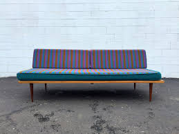 Modern Daybed Sofa Mid Century Modern 1960 S Wood Frame Daybed Sofa George