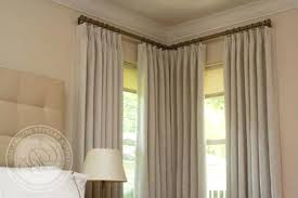 Picture Window Curtain Ideas Ideas Corner Window Curtain Ideas Electricnest Info
