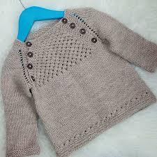 blær a baby sweater barnapeysa pattern by dagbjört