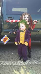 homemade arkham city costumes the joker and harley quinn album