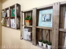 Make Wood Bookshelf by Stark Diy Diy Pallet Shelves 2 Wood Hampedia