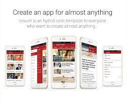 full mobile application for wordpress news blog magazine website