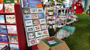 Leanin Tree Dog Christmas Cards by Flea Market Photos July 11 Dodge County Fairgrounds