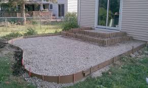 Backyard Ideas Patio Concrete Backyard Design Top 25 Best Concrete Backyard Ideas On