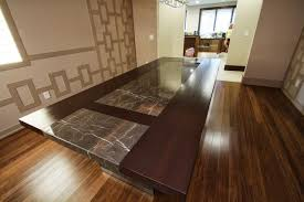 Dining Room Table Custom Designed Dining Room Table Contemporary Dining Room