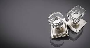 emtek crystal cabinet knobs windsor lowell modern crystal door knobs emtek products inc