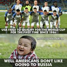 Usa Memes - usa fails to qualify for world cup 2018 in russia sports memes