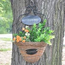 wicker wall hanging baskets online shopping the world largest