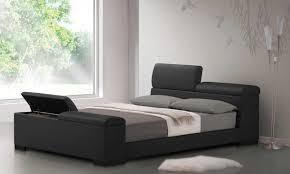 King Platform Bed Frame With Headboard Beds Amazing King Platform Bed With Headboard Trends Also Size