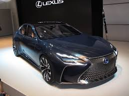 lexus truck 2015 lexus fuel cell car likely to be based on new ls luxury sedan