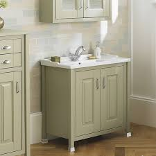 Traditional Bathroom Vanity Units by Old London Pistachio 800mm Vanity Unit