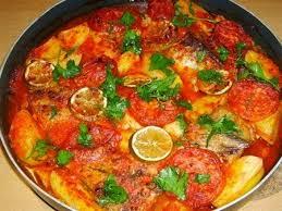 recette cuisine poisson manger turc la cuisine turque pommes de terre et poisson au four