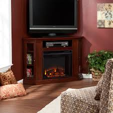 claremont convertible media electric fireplace black