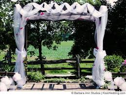 wedding arches decorated with tulle decorated wedding arch with tulle wedding stuff