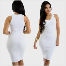 white bodycon dress white tank bodycon dress naf dresses