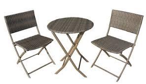Tesco Bistro Table Buy Biarritz Brown Folding Garden Bistro Set From Our Rattan