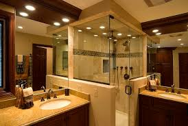 Concept Bathroom Makeovers Ideas Small Bathroom Remodel Idea Two Wood Vanities Homes