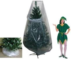 clear poly vinyl tree storage bags