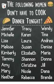 The Following Memes - the following women don t have to cook dinner tonight a jennifer