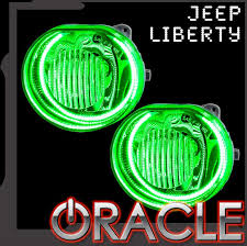 2002 jeep liberty fog lights 2002 2004 jeep liberty oracle fog light halo kit advanced