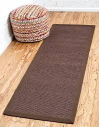 2 X 6 Runner Rugs Brown 2 X 6 Sisal Runner Rug Area Rugs Esalerugs