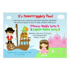princess birthday invitations u0026 announcements zazzle