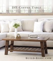 build a coffee table build a diy coffee table build basic