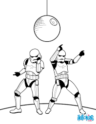 dancing stormtroopers coloring pages hellokids com