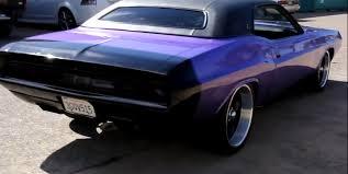 Dodge Challenger 1970 - check out this amazing plum crazy purple 1970 r t se dodge