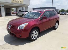 Nissan Rogue Sl - 2009 venom red nissan rogue sl awd 65361792 gtcarlot com car