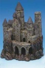 penn plax large magical castle aquarium ornament 1000 aquarium