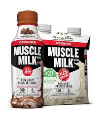 100 calorie muscle milk light vanilla crème muscle milk genuine protein shake muscle milk