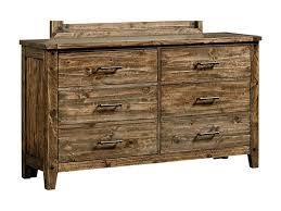 Rustic Furniture Store Standard Furniture Nelson Rustic Six Drawer Dresser Great
