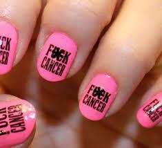 72 fk cancer nail art decals megapack fkc breast cancer