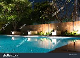 expensive home luxury designer swimming pool stock photo 533079070