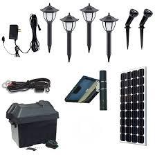 Landscape Lighting Kits Solar Landscape Lighting Kit