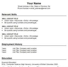 Free Templates For A Resume How To Make A Resume For Free Step By Step Resume Template And