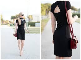 chic details little black dress vintage silk scarf u0026 patent