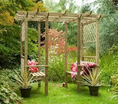 forest verona walk through garden seated arbour pergola
