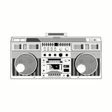 boombox drawing oldschool 90s 80s hiphop music shoooesart