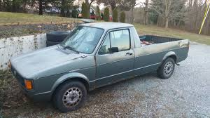 volkswagen caddy pickup mk1 volkswagen vw rabbit pickup truck for sale in pennsylvania