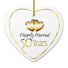 husband 50th anniversary ornaments keepsake ornaments zazzle