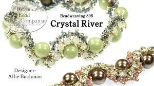 beading bracelet crystal images Make a quot crystal river quot bracelet jpg