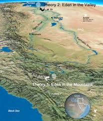 Map Of Babylon Eden Where On Earth Was It